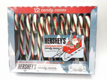 Hershey's chocolate Mint Candy Canes 3