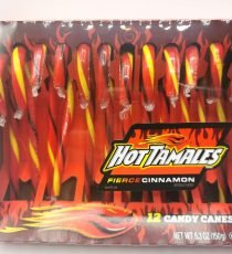 Hot Tamales Fierce Cinnamon Candy Canes 6