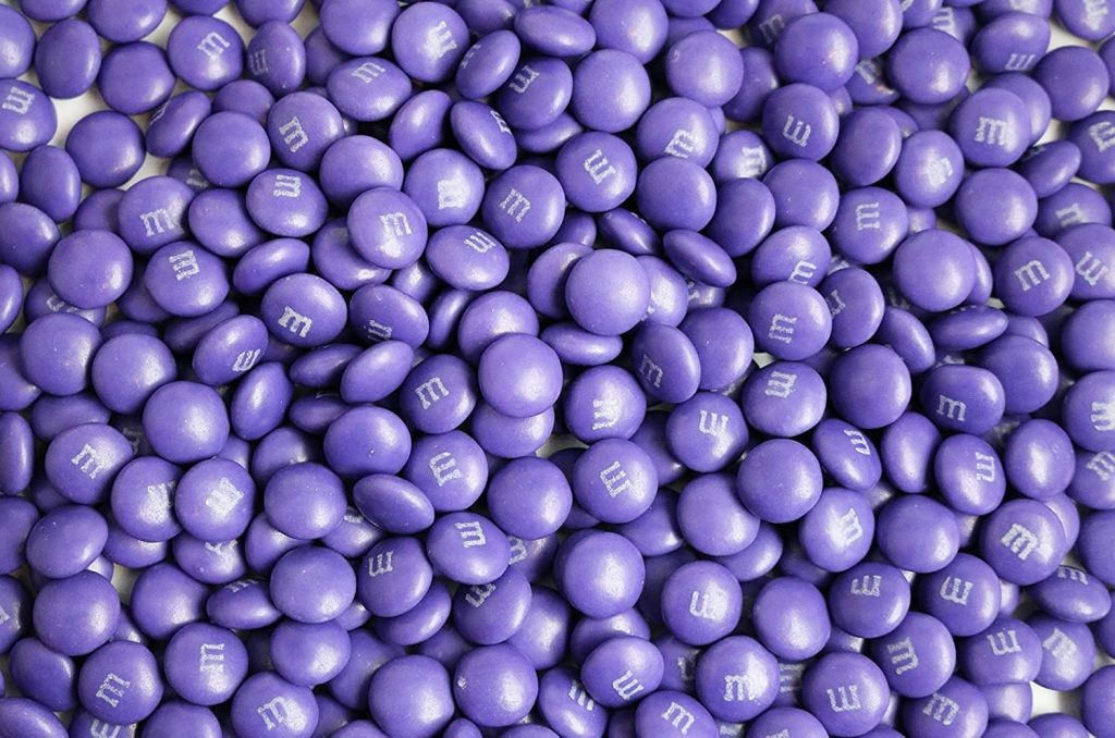 The purple M&M - the story of the lost prince of candy 71