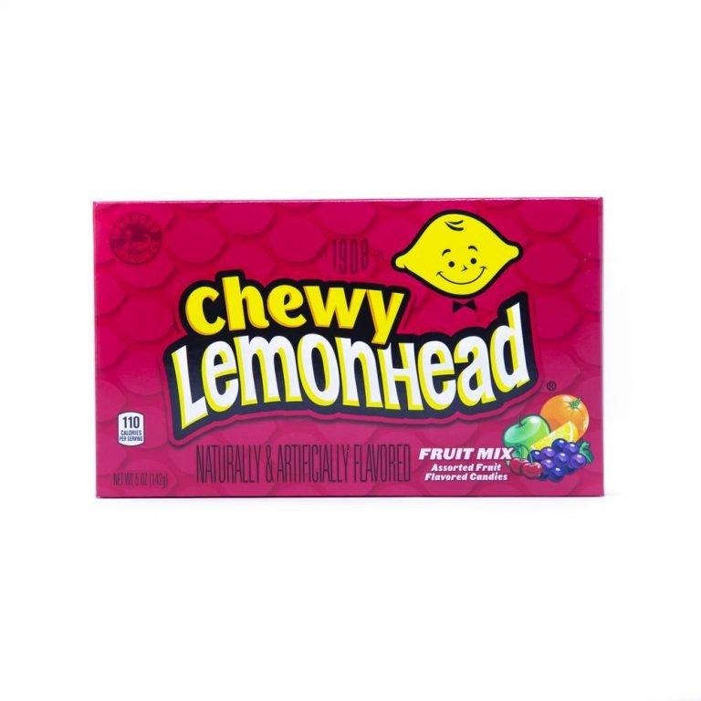 Chewy Lemonhead Fruit Mix Cinema Box