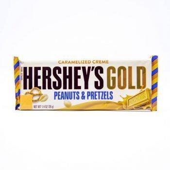 Hershey's Gold Peanut and Pretzel