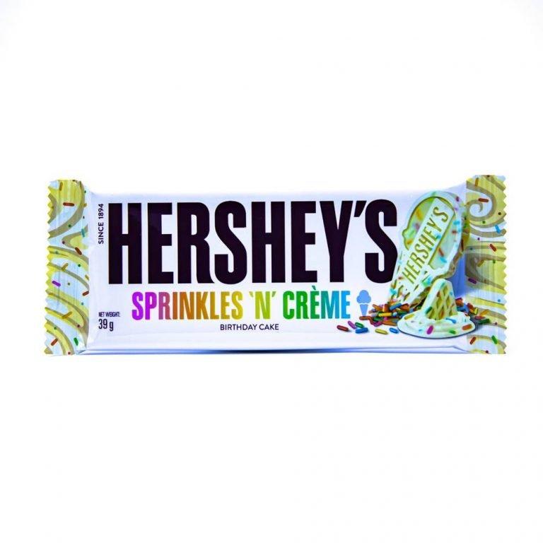 Hershey's Sprinkles n creme Birthday cake