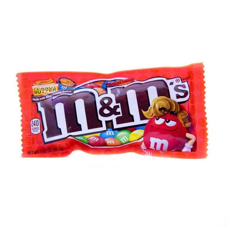 M & M peanut butter