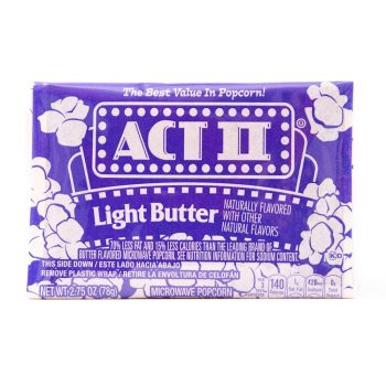 Act11 Microwave Popcorn Light Butter