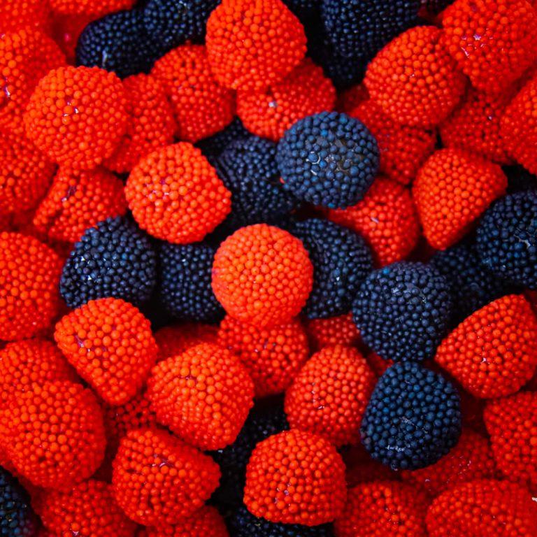 Black & Raspberry Berries