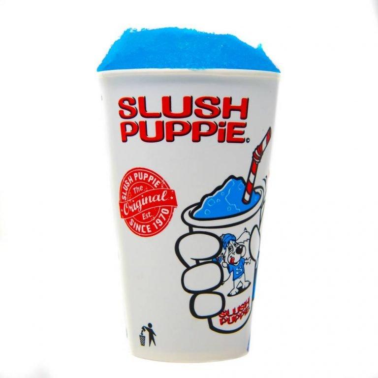 Slushie Blue Raspberry Drink Blue medium