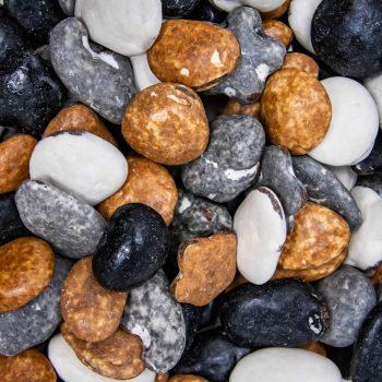 Chocolate stones/pebbles