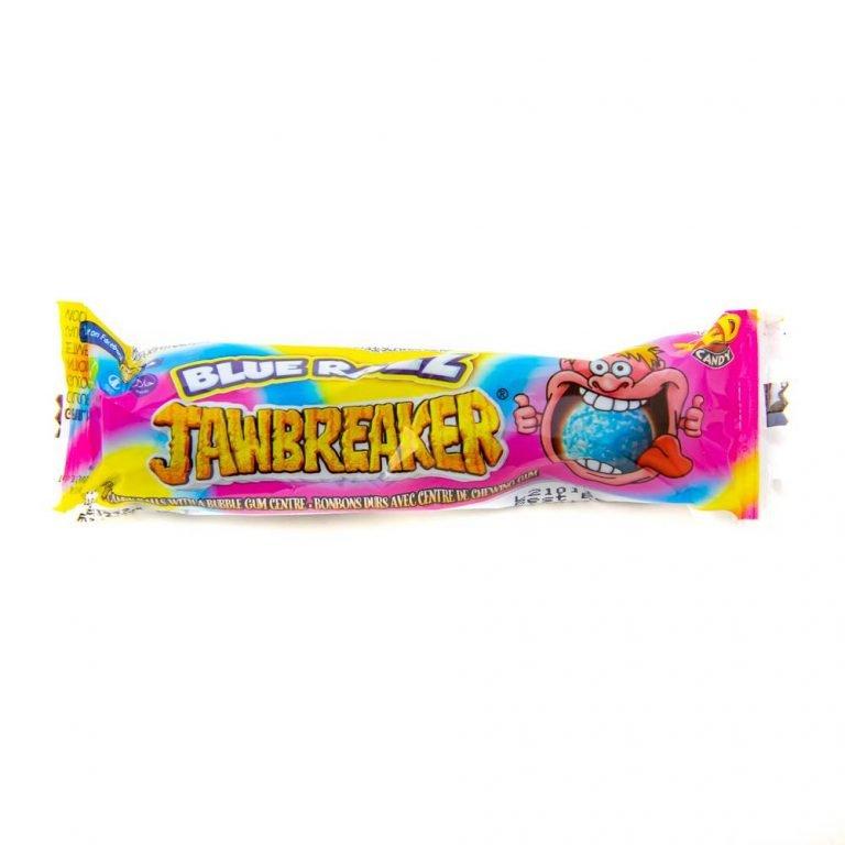 4 Pack Blue Razz Jawbreaker
