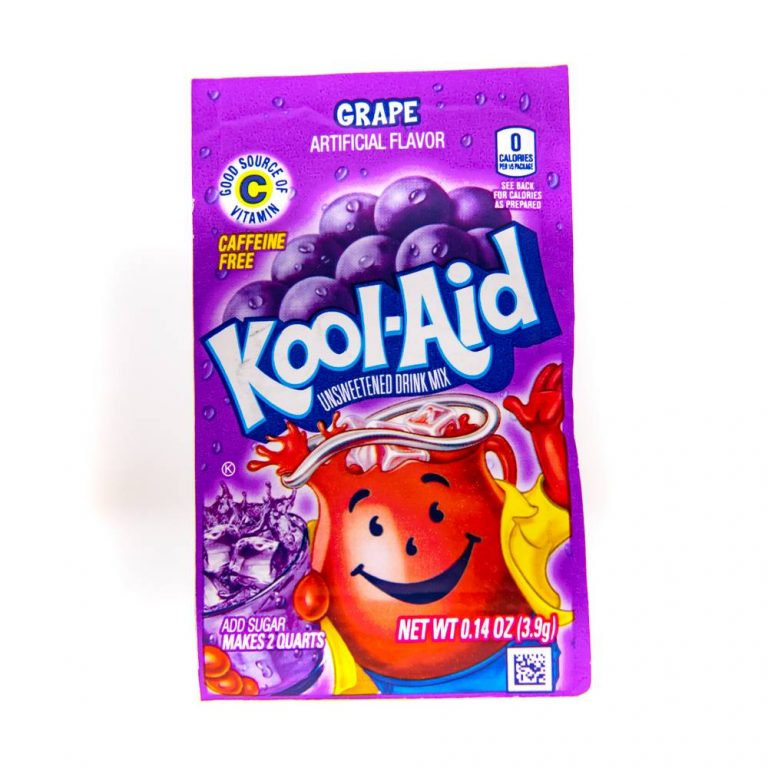 Kool Aid 4.6g sachets grape