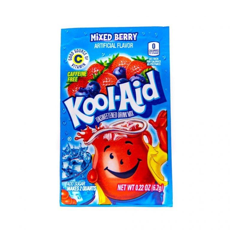 Kool Aid 4.6g sachets mixed berry