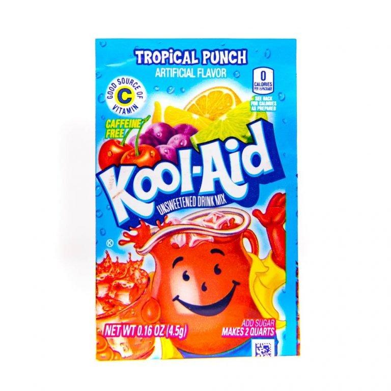 Kool Aid 4.6g sachets tropical punch