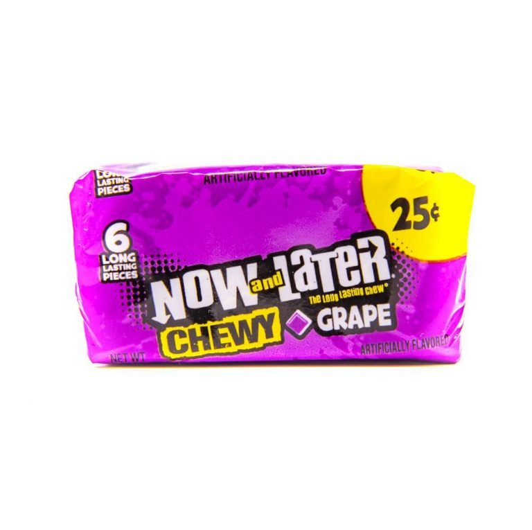 Now and Later Chewy Grape
