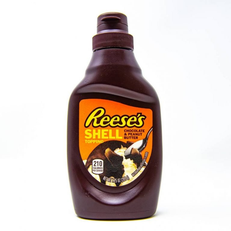 Reeses Shell Topping Syrup