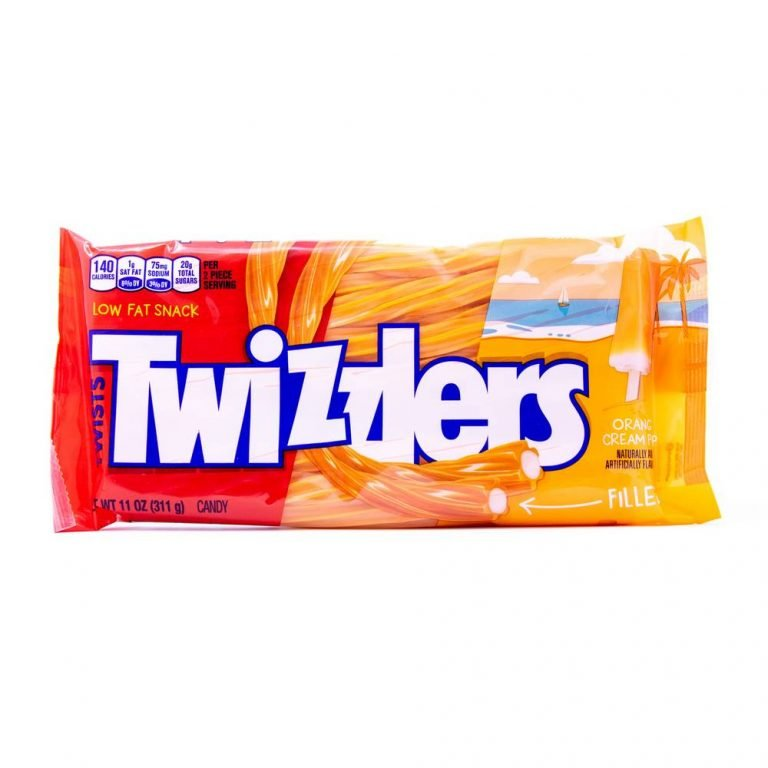 Twizzlers Twists Filled Orange Cream Pop