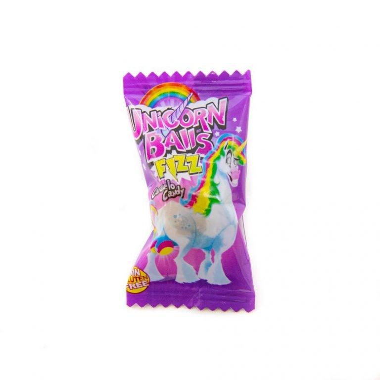 Unicorn balls gum