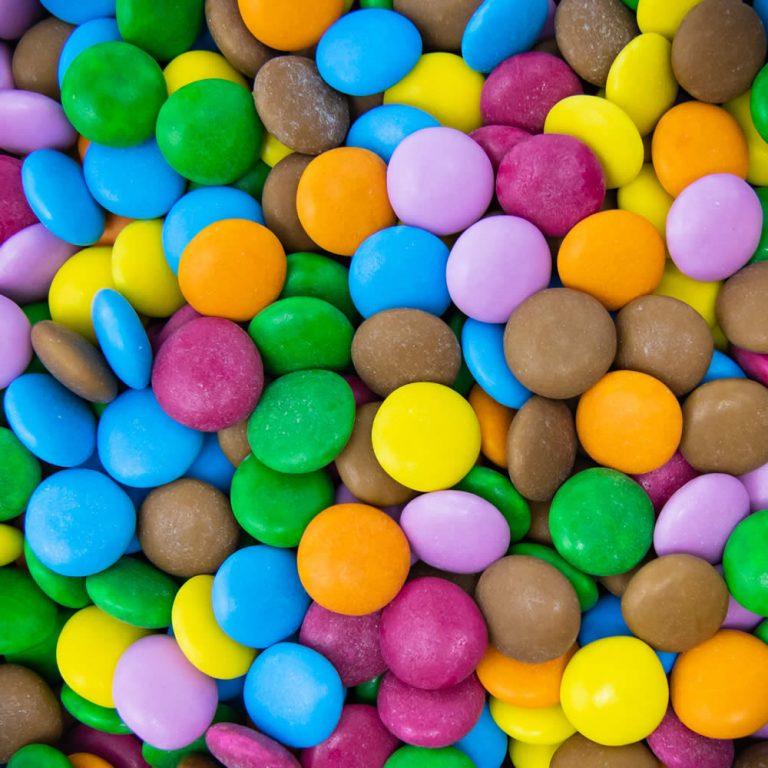 Coloured Chocolate Beans