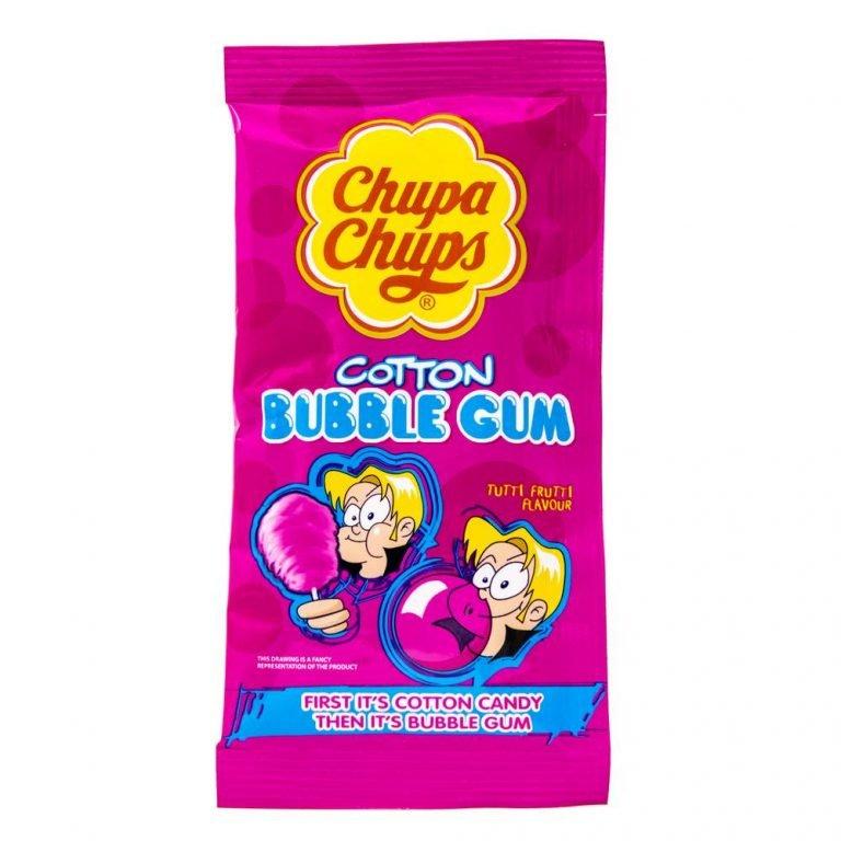 Chupa Chups Cotton Candy Bubblegum