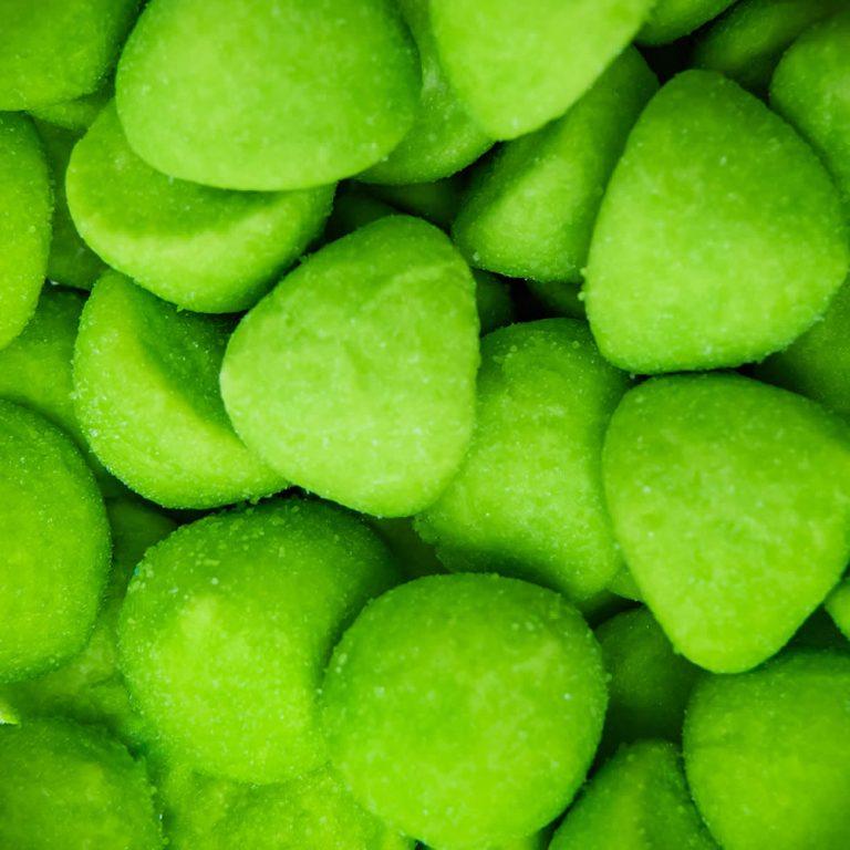 Green Paintballs Marshmallow