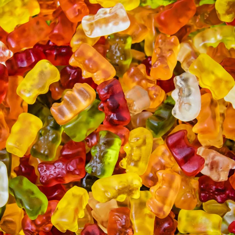 Gummy teddy bears