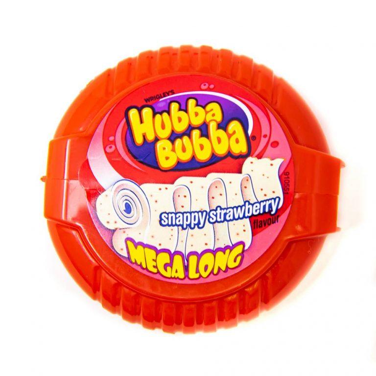 Hubba Bubba Mega Long Snappy Strawberry