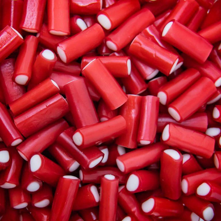Red mini pencils