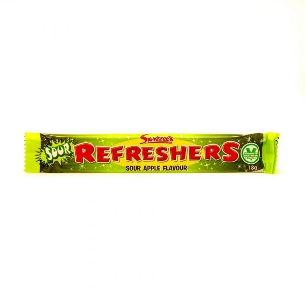 Refreshers Sour Apple Chew Bar 2
