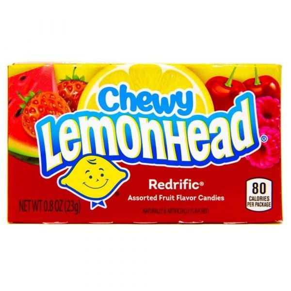 Chewy Lemonhead Redrific - 23g Box 2