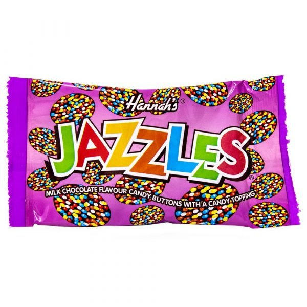 Jazzles Milk Chocolate Buttons with Candy Topping 2