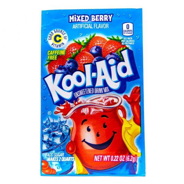 Kool Aid 4.6g sachets mixed berry 2