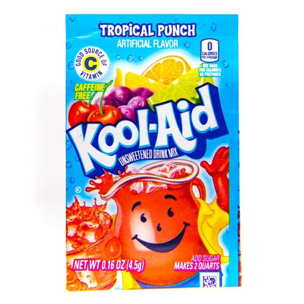 Kool Aid 4.6g sachets tropical punch 2