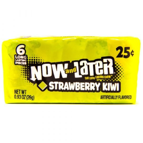 Now and Later Strawberry and Kiwi 26g 2