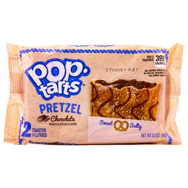 Pop tarts pretzel chocolate x 2 2