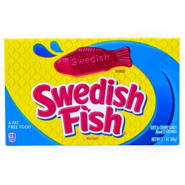 Swedish Fish - 88g theatre box 2